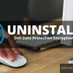 how to uninstall dell data protection encryption windows 10