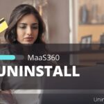 how to uninstall maas360 android